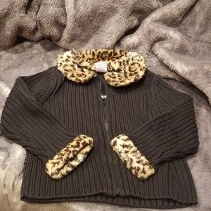 Cute toddler knit ribbed sweater!